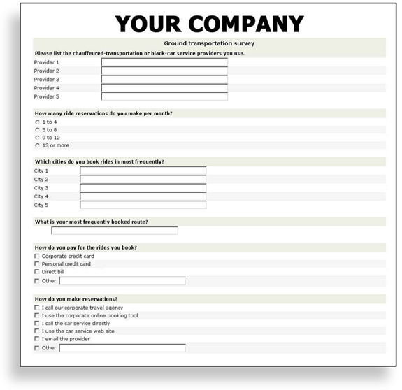questionnaire template word 2010